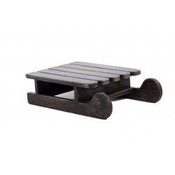 Mod. 1418 Trineo madera