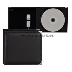 Estuche USB+CD 868