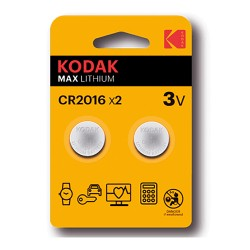 Pila Kodak CR2016 2 Uds.