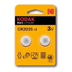 Pila Kodak CR2025 2 Uds.