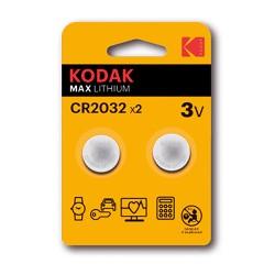 Pila Kodak CR2032 2 Uds.