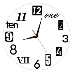 Reloj Círculo Diseño Libre
