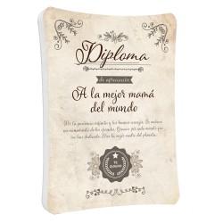 Diploma Mejor Mamá M535