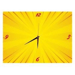 Reloj Rectángulo Diseño Libre