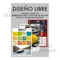 Mod. N-1001-9 Diseño Libre Vertical