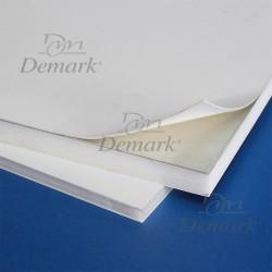 Cartón pluma BLANCO CON adhesivo ALUMINIO 10 mm